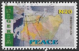 Nigeria SG786 2002 New Millennium (2nd Issue) 20n Good/fine Used [37/30984/1D] - Nigeria (1961-...)