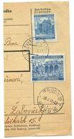 Czechoslovakia Bohemia & Moravia 1941 Parcel Card Slavkov U Brna / Austerlitz - Bohemia & Moravia