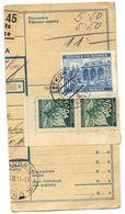 Czechoslovakia Bohemia & Moravia 1941 Parcel Card Cetkovice / Zetkowitz - Bohemia & Moravia