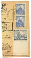 Czechoslovakia Bohemia & Moravia 1942 Parcel Card Čtyři Dvory / Vierhöf - Bohemia & Moravia