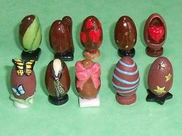 Sèrie De Fèves Complète  : Oeufs En Chocolat - Charms