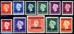 Netherlands Indies 1948 Definitives 11v, (Unused (hinged)), Stamps - Niederländisch-Indien