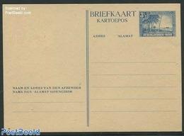 Netherlands Indies 1946 Postcard 3.5c, (Unused Postal Stationary), Stamps - Niederländisch-Indien