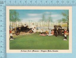 Niagara Falls Ont. Canada - Antique Auto Museum, Picnic Scene By Alex Pelett - Ontario