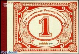 Netherlands 2009 Stamp Day Prestige Booklet No. 27, (Mint NH), Stamps - Stamps On Stamps - Stamp Day - Stamp's Day