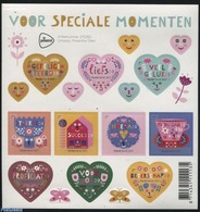 Netherlands 2017 Stamps For Special Moments 10v M/s, (Mint NH), Greetings & Wishing Stamps - Various - Period 2013-... (Willem-Alexander)
