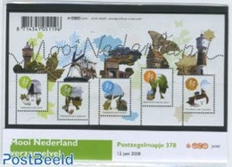 Netherlands 2008 Beautiful Holland Presentation Pack 378, (Mint NH), Various - Mills (Wind & Water) - Tourism - Period 1980-... (Beatrix)