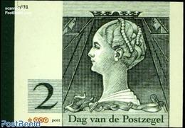 Netherlands 2010 Prestige Booklet Stamp Day, (Mint NH), Stamps - Philately - Stamp Booklets - Stamps On Stamps - Stamps On Stamps