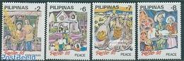 Philippines 1993 Christmas 4v, (Mint NH), Religion - Christmas - Christmas