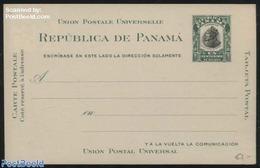 Panama 1906 Postcard 1c (140x90mm), (Unused Postal Stationary), Stamps - Panama