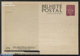 Portugal 1953 Illustrated Postcard XM6, (Unused Postal Stationary), Stamps - Macau