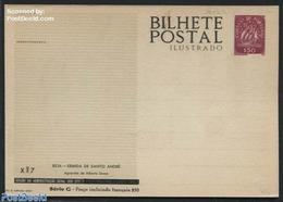 Portugal 1953 Illustrated Postcard XM7, (Unused Postal Stationary), Stamps - Macau