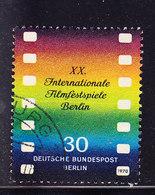 ALLEMAGNE BERLIN Mi 358 Obl, Curiosite Ligne Jaune Traversant Le Timbre   (7B1156) - [5] Berlin
