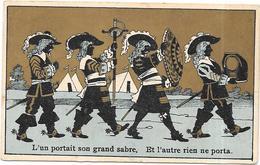 CHROMO Chicorée à La Française Bleu Rayé Paul MAIRESSE à CAMBRAI - L'un Portait Son Grand Sabre....  - BARA11  - - Tea & Coffee Manufacturers