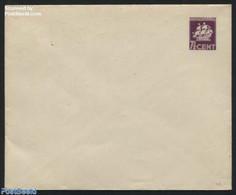 Suriname, Colony 1939 Envelope 7.5c Purple, (Unused Postal Stationary), Transport - Ships & Boats - Ships