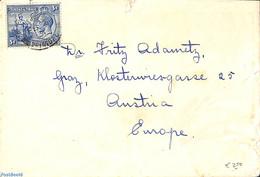Trinidad & Tobago 1931 Letter To Austria, (Postal History) - Trinité & Tobago (1962-...)