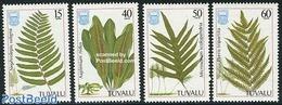 Tuvalu 1987 Ferns 4v, (Mint NH), Nature - Flowers & Plants - Tuvalu