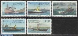 South Africa 1994 Haulage Ships 5v, (Mint NH), Transport - Ships And Boats - Südafrika (1961-...)
