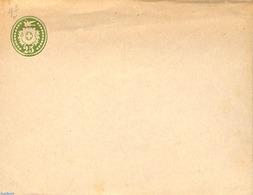 Switzerland 1877 Envelope 25c, WM Normal Position, (Unused Postal Stationary) - Storia Postale