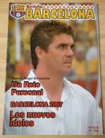 BARCELONA SPORTING CLUB ECUADOR GUAYAQUIL MAGAZINE RARE - Books