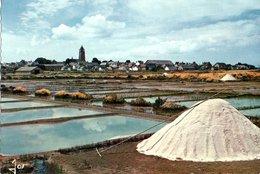 Batz Sur Mer La Recolte Du Sel CPM Ou CPSM - Batz-sur-Mer (Bourg De B.)