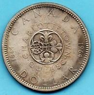 (r65)  CANADA  1 Dollar 1964  Silver /argent KM#58 - Canada