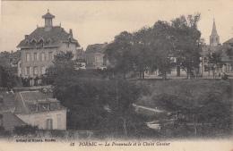 PORNIC LA PROMENADE ET LE CHALET GAUTIER 1920 - Pornic