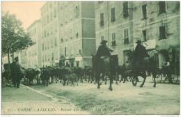 20 AJACCIO. Retour Des Berger à La Montagne Cours Napoléon - Ajaccio