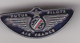Pin's Air-France Futur Pilote - Trasporti
