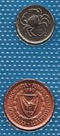 MALTA CYPRUS LOT COINS 2 MONNAIES 1980-1986 - Monete & Banconote