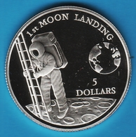 NIUE 5 DOLLARS 1992 1st MOON LANDING KM# 68  Argent 500‰ SILVER - Niue