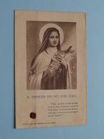 H. THERESIA Van Het KIND JEZUS ( RELIKWIE - RELIQUIARIO - RELIC - RELIQUARY - RELIQUAIRE ) Stof / Gebed ! - Religion & Esotérisme