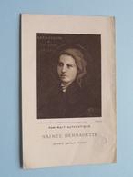Portrait Authentique SAINTE BERNADETTE ( RELIKWIE - RELIQUIARIO - RELIC - RELIQUARY - RELIQUAIRE ) Stof / Gebed ! - Religion & Esotérisme
