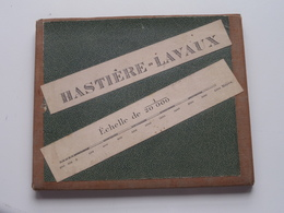 HASTIERE-LAVAUX Echelle 1/20.000 - Anno 1897 Bruxelles Cartographique Militaire ( Op Katoen / Cotton ) België ! - Europe