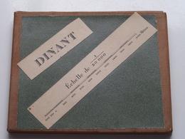 DINANT Echelle 1/20.000 - Anno 1899 Bruxelles Cartographique Militaire ( Op Katoen / Cotton ) België ! - Europe