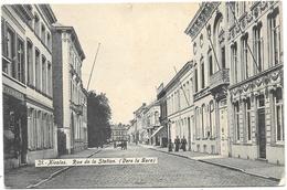 St-Nicolas NA6: Rue De La Station, Vers La Gare - Sint-Niklaas