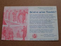 Qu'est-ce Qu'une Tranchée - 277e Régiment ( 3e Série N° 27 ) Anno 19?? ( Voir Photo Svp Pour Détail ) ! - Militari