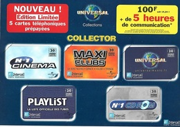 Télécartes, Collector  7  Télécartes  Neuves  Prépayées ( Bloc 21 X 27 Cms ) - Prepaid-Telefonkarten: Andere