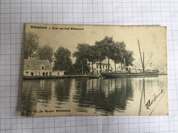 18F - Willebroeck Canal Batelier Péniche Vapeur Aiche Van Oud Willebroek Précurseur - Belgique