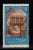 Soudan - YV 113 N* (trace, Gomme Coloniale) Cote 1,25 Euros - Nuevos