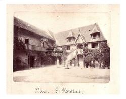 Originale Photo  C1870  Dives Sur Mer - Normandie - Canton De Cabourg - Calvados - L'hotellerie - Photographs