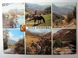 ANDORRE - VALLS D'ANDORRA - Vues - 1975 - Andorra