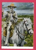CPSM  (Réf : (C529) EN CAMARGUE   (30 GARD) 10.179Gardian Et Son Cheval (animée) - France
