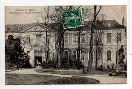 - CPA DOUAI (59) - Hospice Général - Square Jemmappes 1910 - Edition D. D. - - Douai