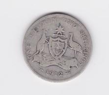 1 Florin 2 Shillings 1912  Australie Rare  B/TB - Monnaie Pré-décimale (1910-1965)