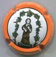 CAPSULE-CHAMPAGNE VINCENT Jean Luc N°05 Contour Orange - Champagnerdeckel