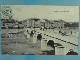 Alais Le Pont Vieux - Alès