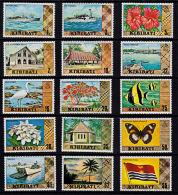 D0218 KIRIBATI 1979, SG 86-99b First Definitive Set,  MNH - Kiribati (1979-...)