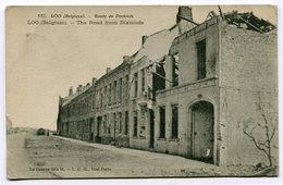 CPA - Carte Postale - Belgique - Loo - Route De Dixmude - 1917 (CP3697) - Lo-Reninge