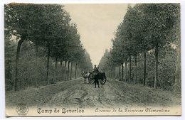 CPA - Carte Postale - Belgique - Camp De Beverloo - Avenue De La Princesse Clémentine - 1913 (CP3700) - Leopoldsburg (Camp De Beverloo)